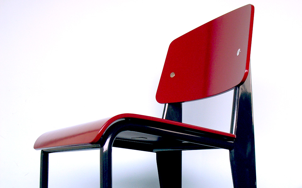 image Standard Chair : Jean Prouve by Vitra