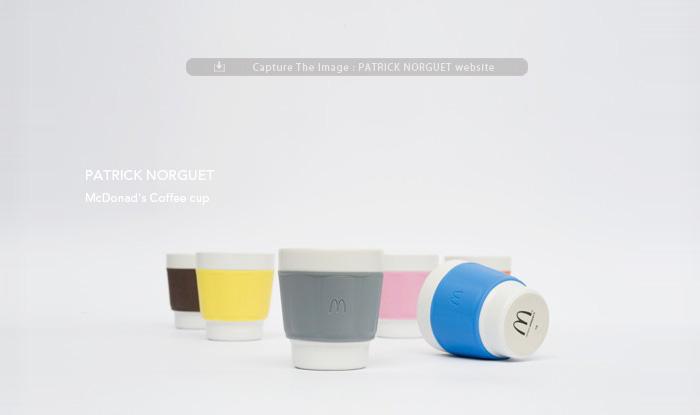 image PATRICK NORGUET / パトリック ノルゲ  フランスマクドナルド コーヒーカップ